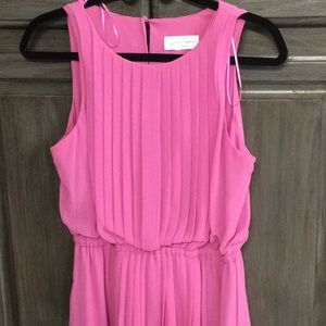 Jessica Simpson pink chiffon type dress